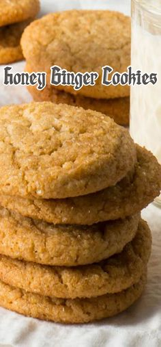 Honey Ginger Cookies