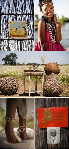 African Wedding Inspiration from Zoom Photography + Mary Kinney | Style Me Pretty