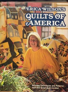 Quilts of America (Oxmoor House) By Erica Wilson 1979 | jjandedt - Books & Magazines on ArtFire