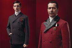 Gary Oldman, Garrett Hedlund, Jamie Bell & Willem Dafoe for Prada Fall/Winter 2012 Campaign