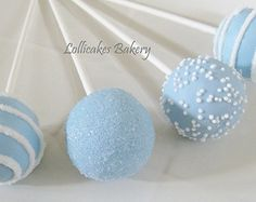 Boy Baby Shower Favors: Baby Shower Cake Pops Made to Order with High Quality Ingredients 1 Dozen Cake Pops Caris babyshower Baby Shower Azul, Baby Shower Cake Pops, Pop Baby Showers, Shower Bebe, Baby Shower Cookies, Shower Cakes, Baby Shower Favors, Baby Boy Shower, Baptism Cake Pops