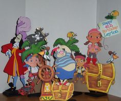 Jake and the Neverland pirates by cricflix on Etsy, $18.00