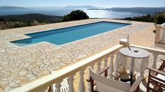 great pool view, house in Kalamata, Greece