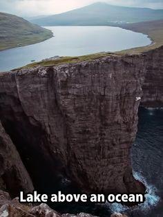Unbelievable beauty!! - Lake Sørvágsvatn in Faroe Islands