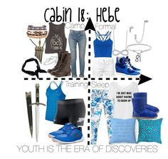"""Cabin 18: Hebe"" by aquatic-angel ❤ liked on Polyvore featuring Lafonn, Miss Selfridge, Once Upon a Time, BCBGeneration, NIKE, MANGO, UGG Australia, Heal's, Jonathan Adler and Frame Denim"