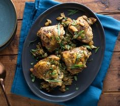 Best Tarragon Chicken Fricassee Recipe on Pinterest