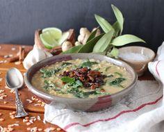 Arctic Garden Studio: Lentil Rice Soup with Caramelized Onions