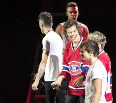 I was staring at Harry at first, and then I noticed Liam's face behind him hahaha