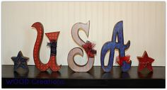WOOD Creations: 4th of July Crafts Are Here!