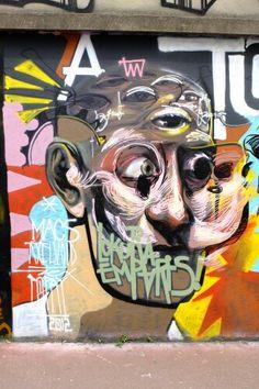 Popay - Street art - Montreuil, rue du sergent godefrois (jun 2013)
