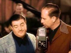 """Abbott & Costello """"Who's On First"""" Vintage Hollywood, Classic Hollywood, Whos On First, Abbott And Costello, Michael Moore, Carol Burnett, Great Videos, Funny Videos, Laurel And Hardy"""