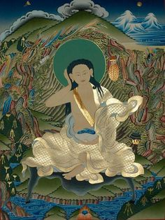 'If there is one thing for us to take to heart from Milarepa's teaching, it is this:  more and more of less and less'   Sangharakshita, 'The Yogi's Joy'
