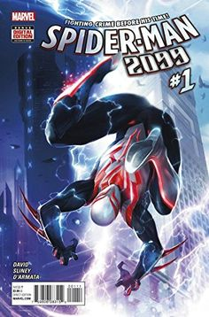 Comic Book Review: Spider-Man 2099 #1 - Bounding Into Comics
