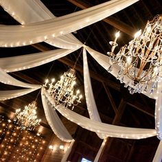 What more could you ask for? #drapery #decor #chandelier #lighting #unique #simple #beautiful #elegant