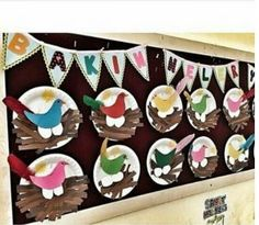Paper plate animals craft idea for kids – Crafts and Worksheets for Preschool,Toddler and Kindergarten Bird Nest Craft, Bird Crafts, Animal Crafts, Unique Bird Feeders, Diy Bird Feeder, Paper Plate Crafts, Paper Plates, Spring Toddler Crafts, Paper Plate Animals