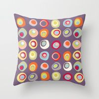 I think this design looks great on pillows! Throw Pillows by Cherie's Art | Society6