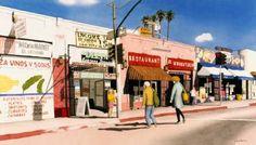 """Milkman"", Beverly Blvd., Los Angeles"