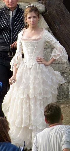 A first look at some of the costumes from the film adaption of Into the Woods.