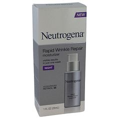 Neutrogena Rapid Wrinkle Repair Moisturiser Night 29ml - The Warehouse. Buy at the link below or Available from Farmers, most pharmacys and some supermarkets?