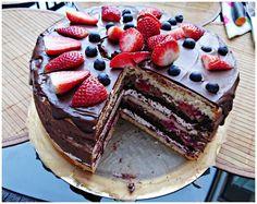 Z maminego zeszytu: Tort imieninowy dla męża
