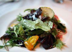 Salad at Refuel Restaurant & Bar in Crosby Street Hotel NYC