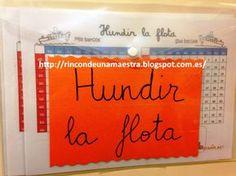 Rincón de una maestra: Matemáticas divertidas: Hundir la flota