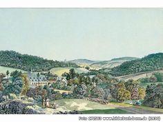 ColorierterStichdesfrühen19.Jhdts., Marienforster Str., 53177 Bonn - Bad Godesberg (1830)