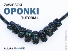 Beading oponki tutoriak Royal-Stone & Kasia OK Beaded Beads, Beaded Ornaments, Beads And Wire, Beaded Jewelry, Beaded Necklace, Beading Tutorials, Beading Patterns, Beads Direct, Woven Bracelets