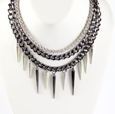 The Omnia Spike Necklace $30 http://etsy.me/Wx0dc7