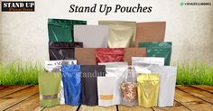 #Standuppouches in an option of either a #stock or #custompouch. Minimum quantity order for #stockpouches are1000 units and custom pouches have a minimum order of 15000 units.