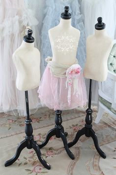 French Style Children's Dressform Mannequin...Fully Pin-Able...All Sizes Available
