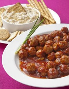 Henry Bain Meatballs (& other derby party ideas). These meatballs look great!