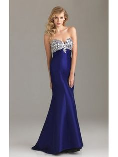 Gorgeous Mermaid Sweetheart Blue Prom Dress NPD0014 - Prom-dance.com