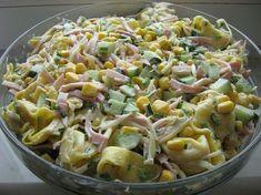 Sałatka z Tortellini European Dishes, Tortellini Salad, Cooking Recipes, Healthy Recipes, Side Salad, Easy Chicken Recipes, Lasagna, Dinner Recipes, Salads