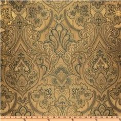 Eroica Hollyhock Jacquard Antique  Item Number: UL-834  Our Price: $7.98 per Yard