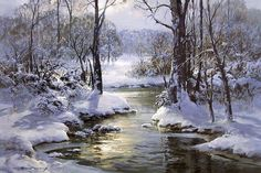 Charles Vickery - Paintings I love