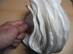 Polierscheibe selbst gemacht - allereinfachste und billigste Art...