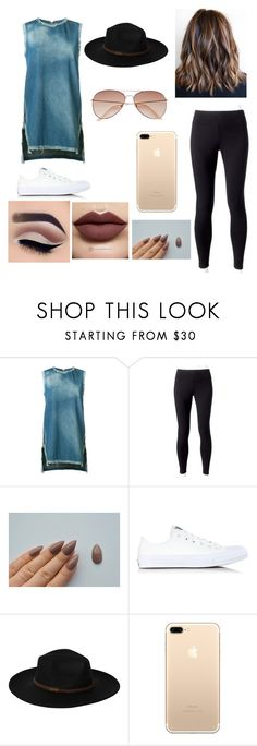 """""""Untitled #84"""" by gebertgirl02 on Polyvore featuring Victor Alfaro, Jockey, Anastasia Beverly Hills, Converse, Billabong and H&M"""