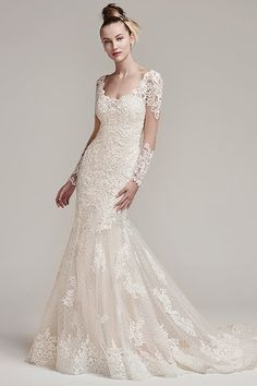 Wedding gown by Sottero and Midgley (Style Melrose).