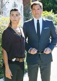 #NCIS #TIVA Michael Weatherly as Tony DiNozzo Cote de Pablo as Ziva David