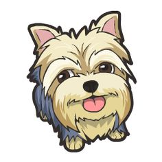 YORKIE | PAWS & CLAWS | Pinterest | Coloring, So cute and Clip art
