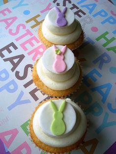 Easter Bunnies by Happiness in a Bite, via Flickr
