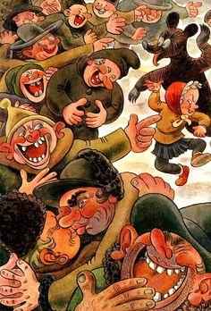 Kubula a Kuba Kubikula - druhé vydání (r.1948) Amazing Adventures, Illustration, Painting, Art, Cuba, Art Background, Illustrations, Painting Art, Paintings