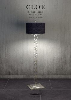 Cloė Floor lamp - Pont des Arts - Designer Monzer Hammoud - Paris