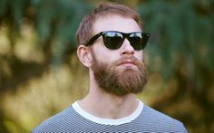 The Beard as Sunscreen: your beard can protect you from the sun's UV rays.   mens journal magazine
