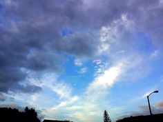 """""""Big Blue Heart in the Middle"""" October 15, 2014, ©Terri Smith ❥ Stormy"""