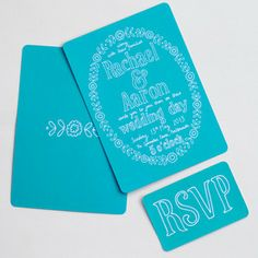 A wedding invitation sample including a main postcard and information card. Please indicate to me when you check out which range you would like to receive.