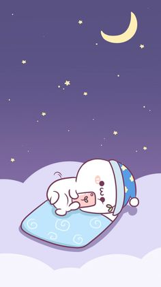 Me, every night Funny Cartoon Gifs, Cute Cartoon Wallpapers, Cute Love Gif, Cute Love Memes, Cute Kawaii Animals, Kawaii Cat, Bear Wallpaper, Kawaii Wallpaper, Kawaii Drawings
