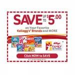 Sign up for free to print coupons, get free books from Scholastic and a host of other goodies. Upload receipts, enter codes, or attach your participating shopper's cards (ex.; CVS, Walgreen's). https://www.kelloggsfamilyrewards.com