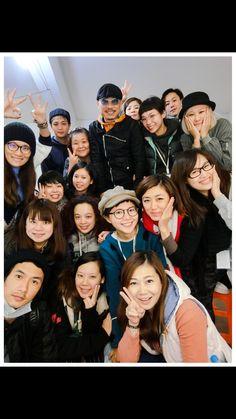 昨晚團隊開心完成任務,今天打道回台,12/5號再戰上海! A happy team last night, today go back to Taiwan, 12/5 battles again in Shanghai !